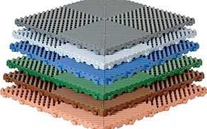 Huso Kunststoff Bodenplatten